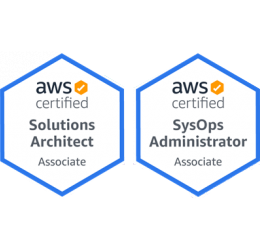 AWS certified Solutions Architect & SysOps Administrator